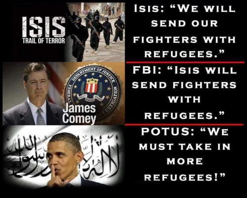Obama Islam Muslim refugees