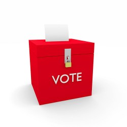 ballot box photo