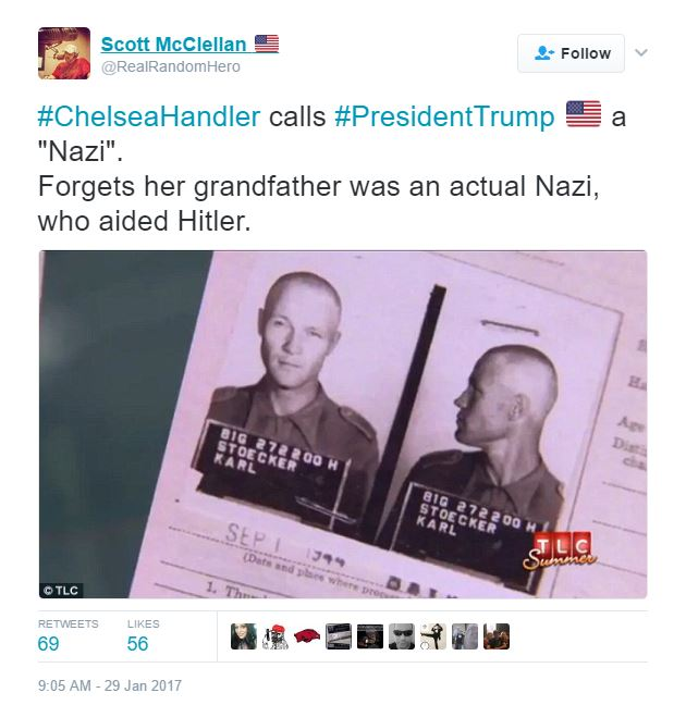 stupid-leftists-chelsea-handlers-grandfather-a-nazi