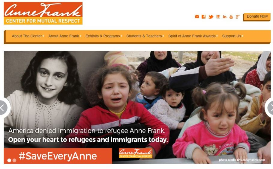 anne-frank-center-for-mutual-respect-home-pagte