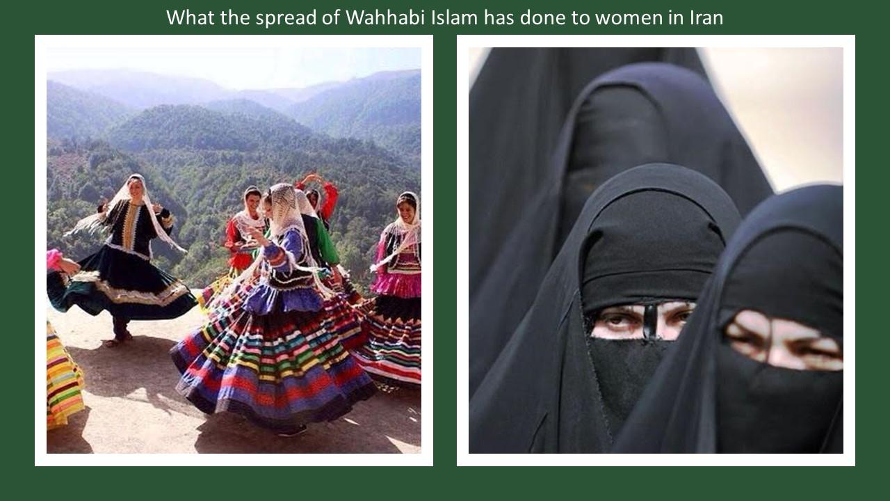 Iran costume Wahhabi Islam