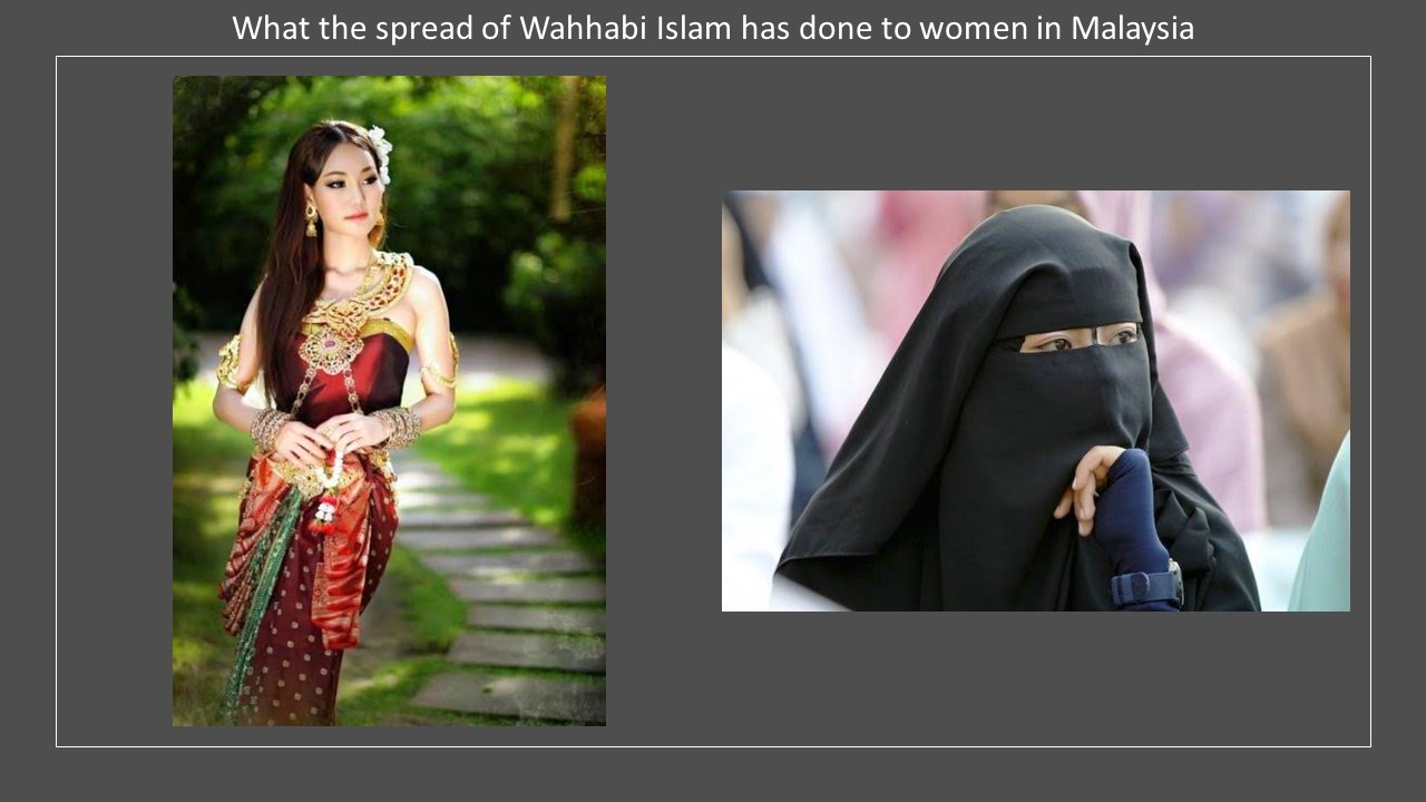 Malaysia costume Wahhabi Islam