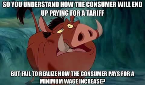 stupid-leftists-minimum-wages-and-tariffs