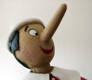 Pinocchio Lies Lying Liar