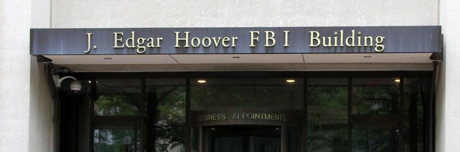 FBI Comey J. Edgar Hoover Building Federal Bureau of Investigation