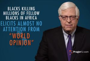 Dennis Prager on Nazism v communism and the Left