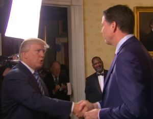Trump Comey Loyalty