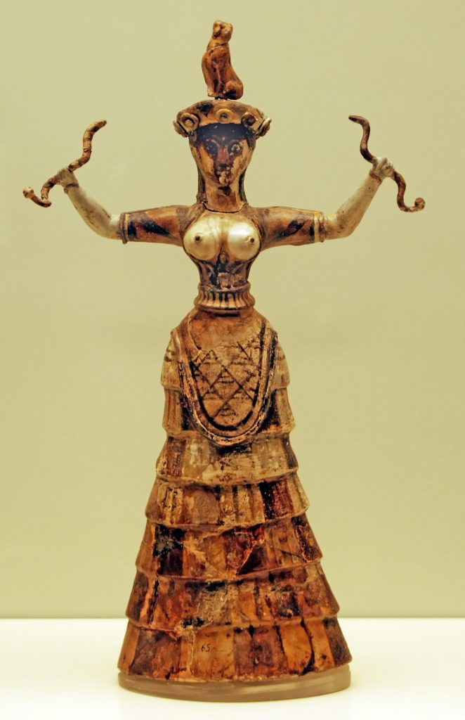 Minoan Snake Goddess princess dress