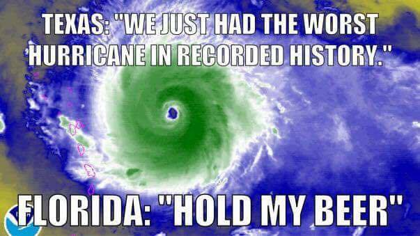 Hurricanes Irma Harvey Texas Florida Illustrated Edition