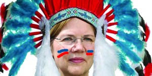 Elizabeth Warren fake Pocahontas Native American