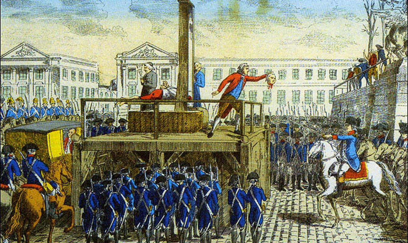 the reign of terror in the french revolution Defining the reign of terror during the french revolution  the national assembly was the current government of france maximilien robespierre encouraged the people of the third estate to take action, resulting in such events as the storming of the bastille in paris and in acts of violence out in.