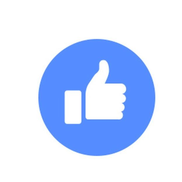 Facebook thumbs up icon