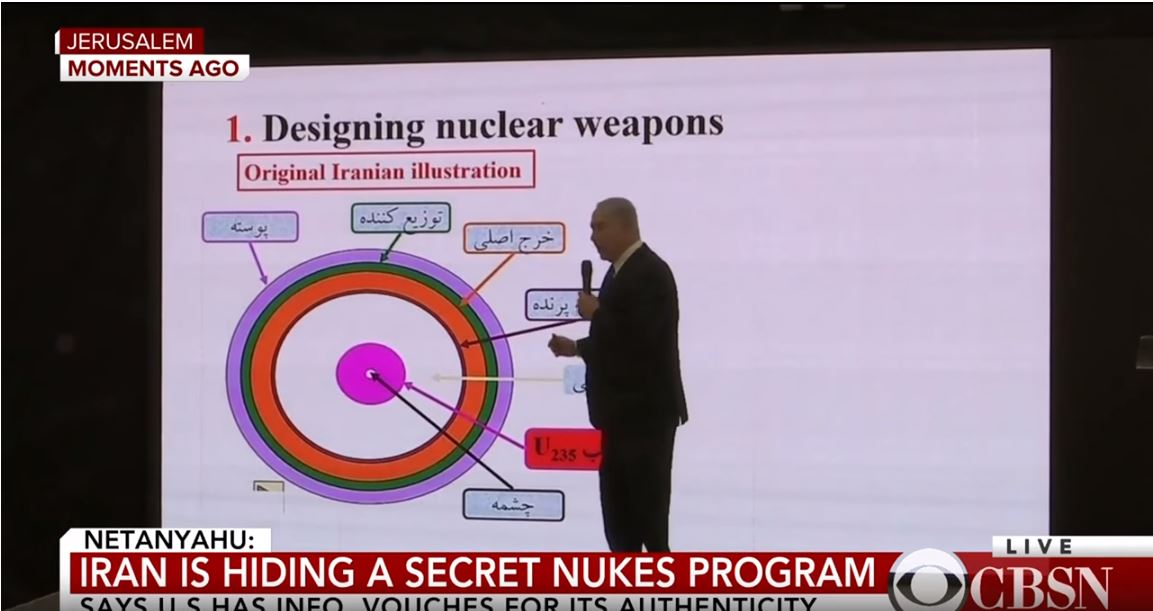Netanyahu Iran's nuclear weapons program