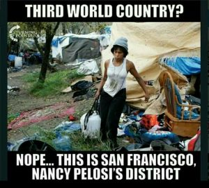 Democrat Party machines homeless