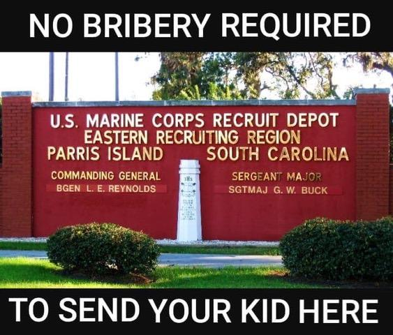 Illustrated edition college fraud marines