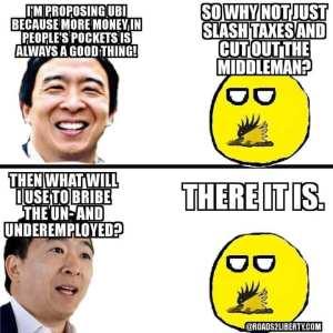 Universal Basic Income Andrew Yang