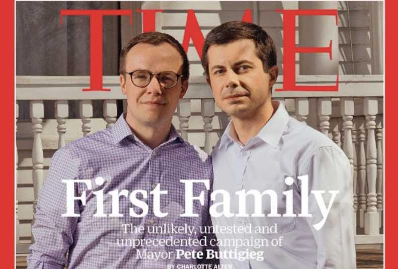 Buttigieg Time Magazine Visual Images