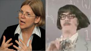 Elizabeth Warren Anne Elk Monty Python John Cleese