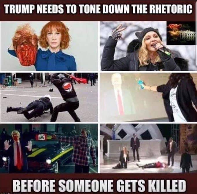 Violent Rhetoric from the Left
