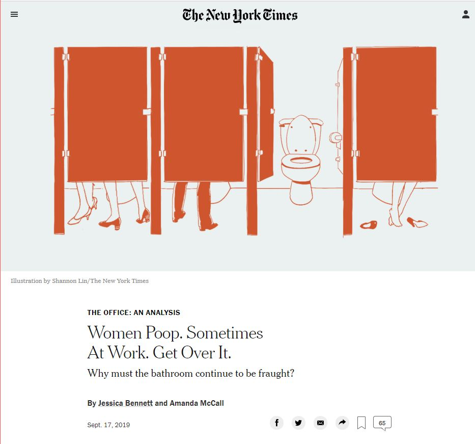 New York Times Party of Poop