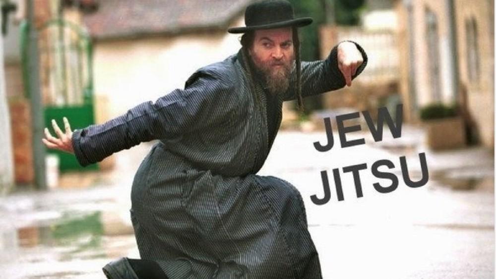 Jews Self-Defense JewJitsu
