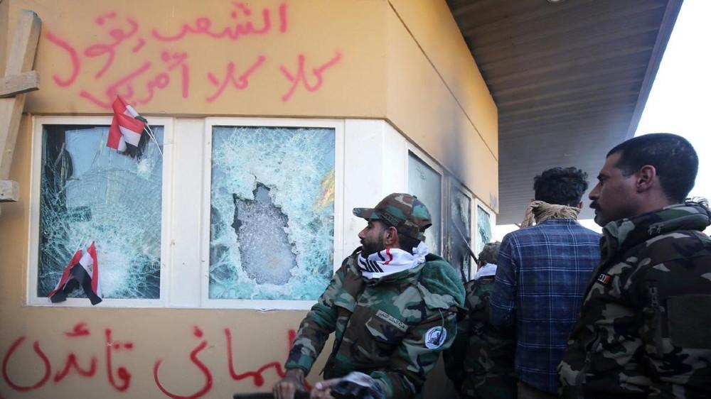 Iran Soleimani Iraq American Embassy