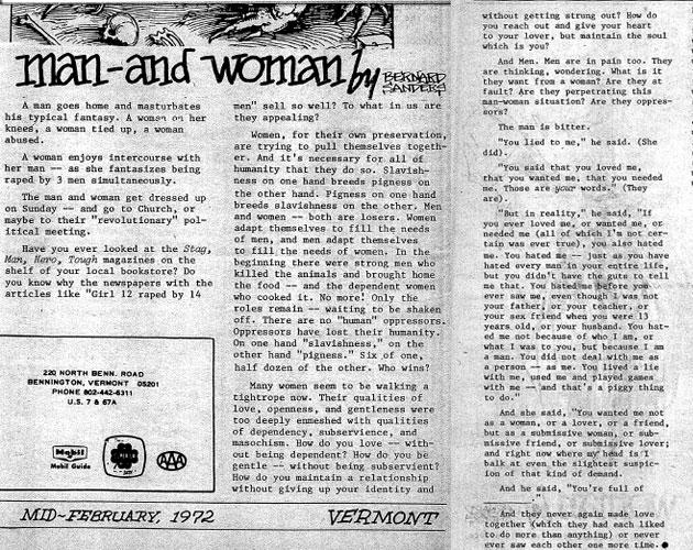 Bernie Sanders' rape fantasy essay from 1972