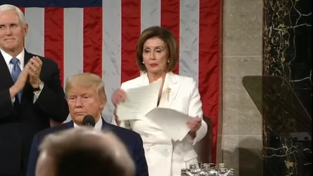 Pelosi rips Trump's state of the union speech