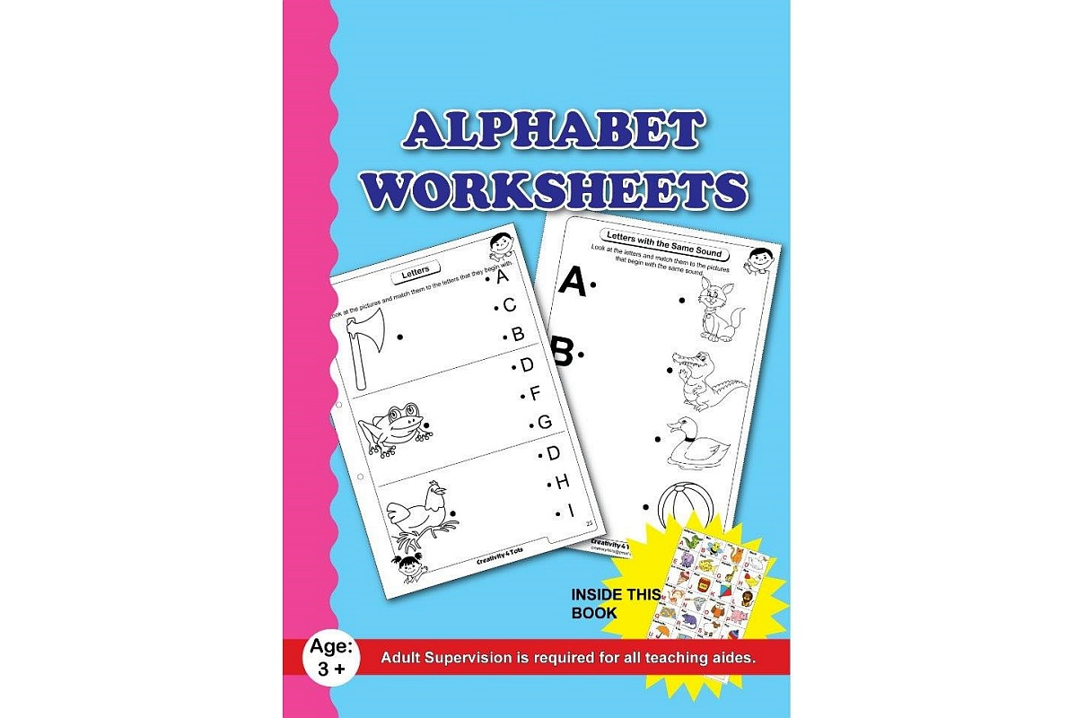 Alphabet Worksheets With Sticker Chart Lockdown Delivery