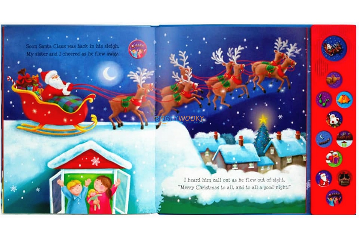 The Night Before Christmas Sound Book Sound Books For