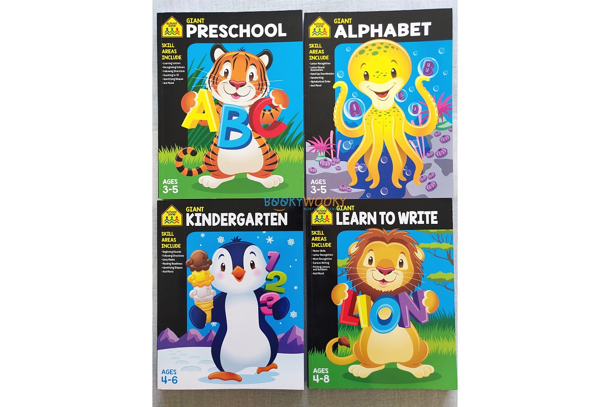 Giant First Grade Workbook Activity Books For Kids
