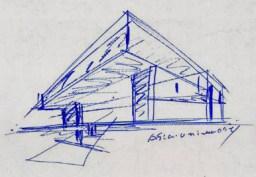 002 霧峰-亞洲現代美術館(亞洲大學內) 大師就是大師 安藤忠雄 清水模三角形與光 大破大立展覽吸引人
