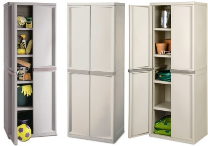 Review of Sterilite 4Shelf Utility Storage Cabinet Putty