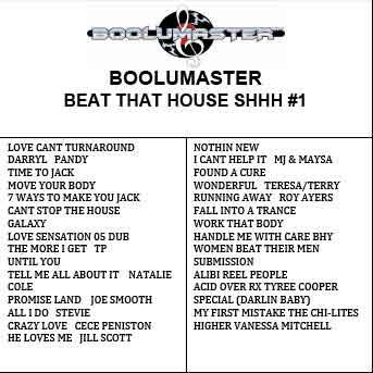 beat that house shh playlist