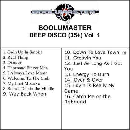 Deep Disco Playlist