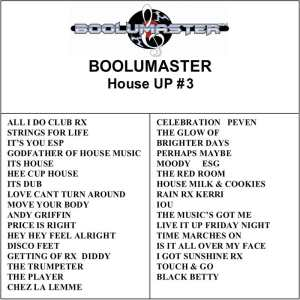 House Up 3 playlist