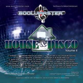 house and disco v4 cover