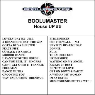 House Up 5 playlist