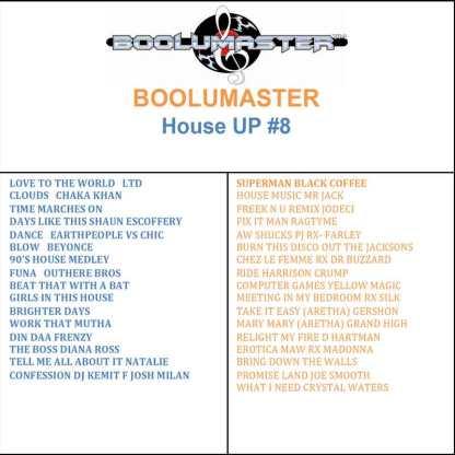 house up v8 playlist