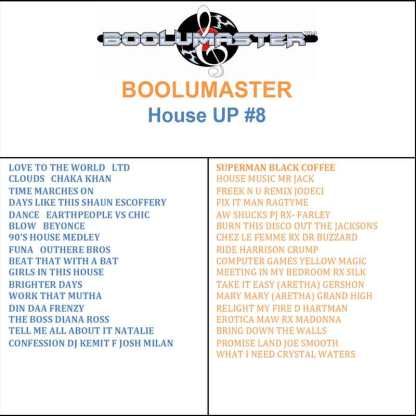 house up v8 playlist