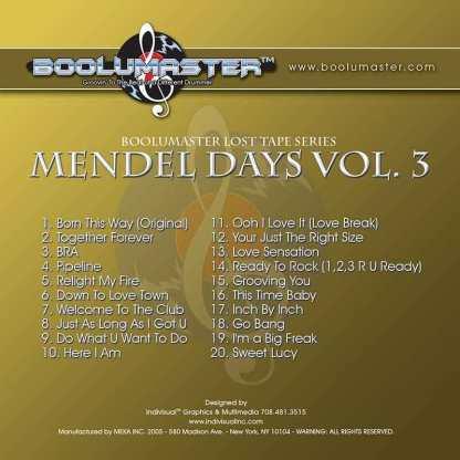 mendel days v3 cover