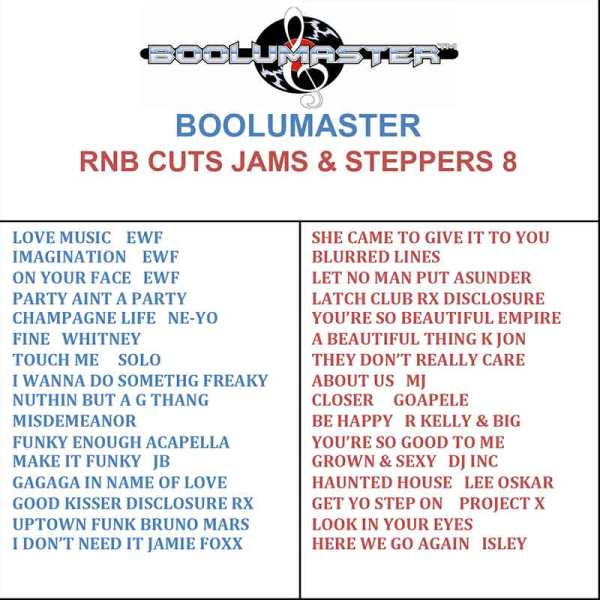 rnb cuts jams steppers 8 cover