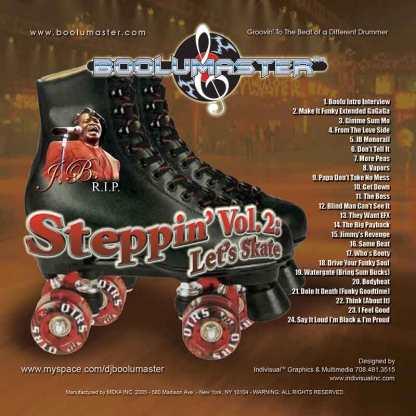 steppin 2 Lets Skate JB RIP