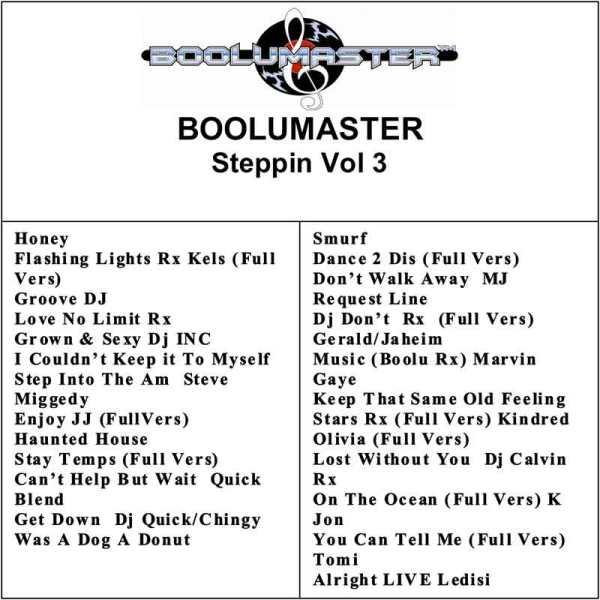 steppin volume 3 playlist