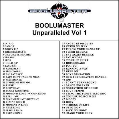 Unparalleled 1 playlist