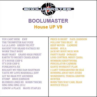 House Up 9 playlist
