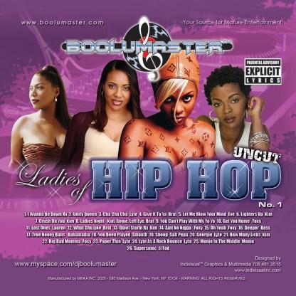 Ladies of hip hop cover