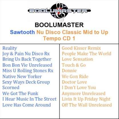 sawtooth Cd1 playlist