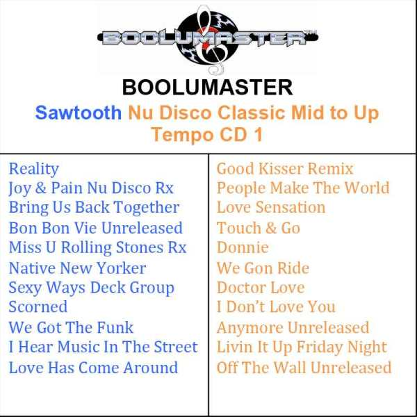 sawtooth Cd1 playlist