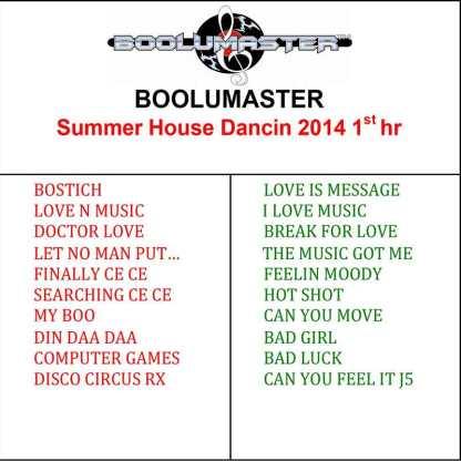 summer house dancing 1 playlist